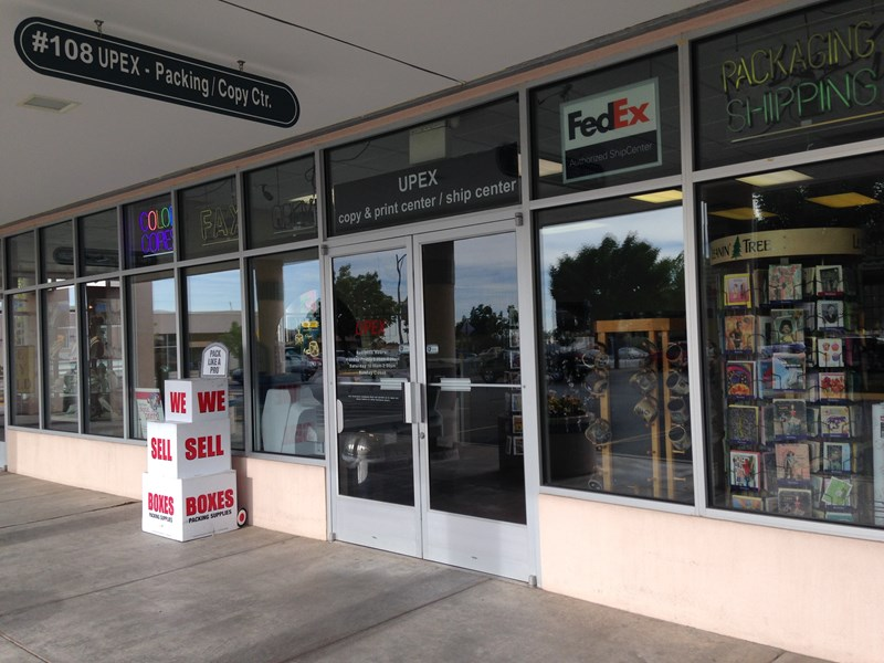 Packing, Shipping, Mailing | Los Alamos, NM | UPEX